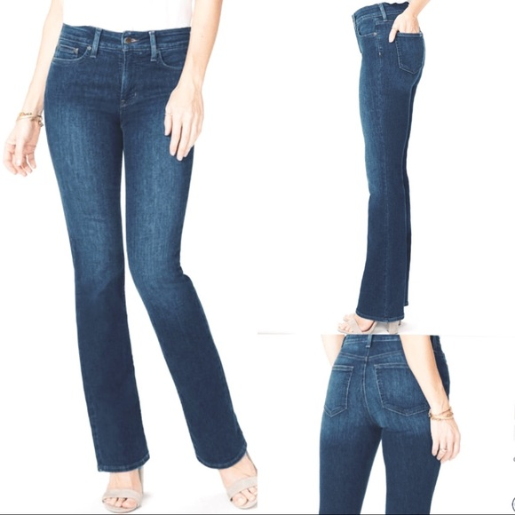 NYDJ Tummy Tuck High Waist Bootcut Jeans